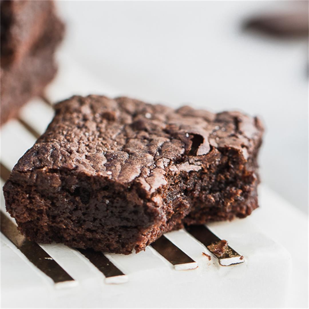 Flourless Fudgy Brownies made Gluten Free