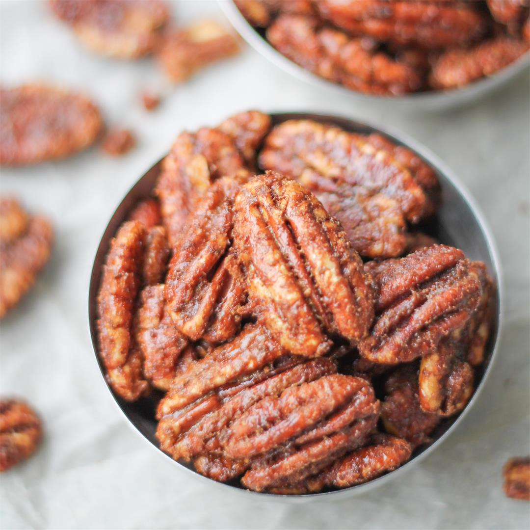 Texas Glazed Pecans