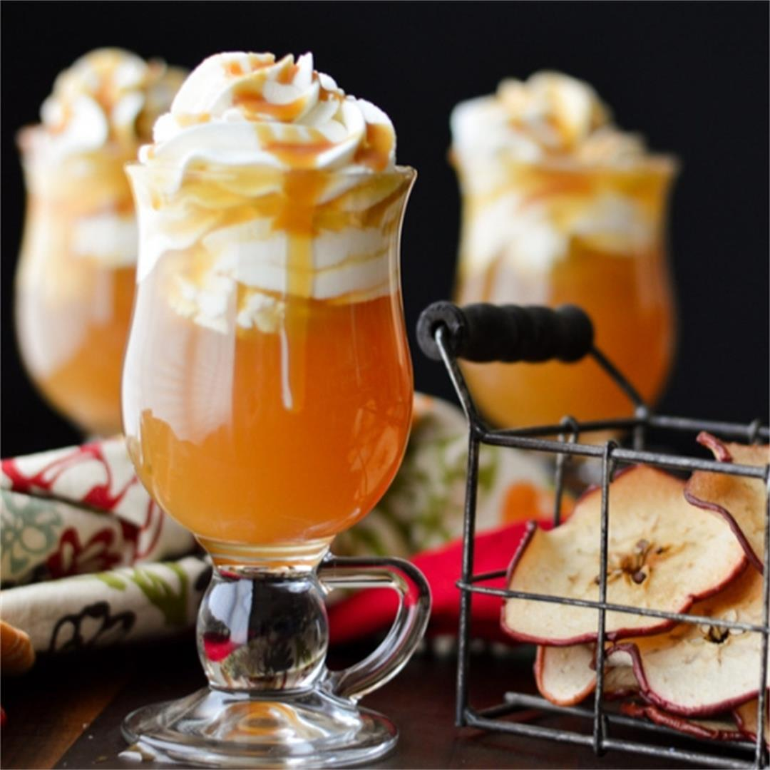 Save Caramel Apple Hot Toddy
