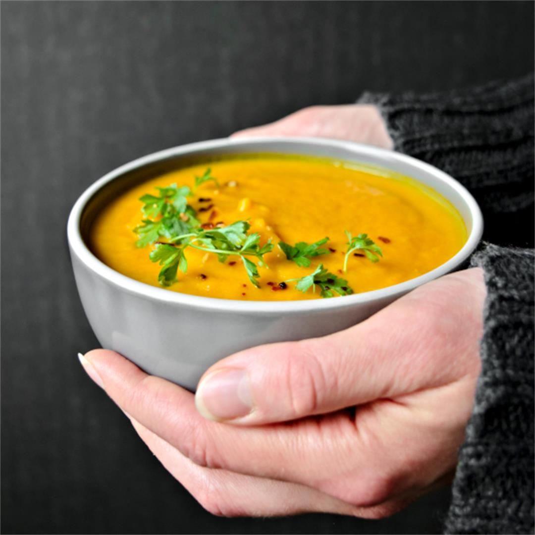 Vegan Carrot Ginger Soup – Immune Boosting Recipes