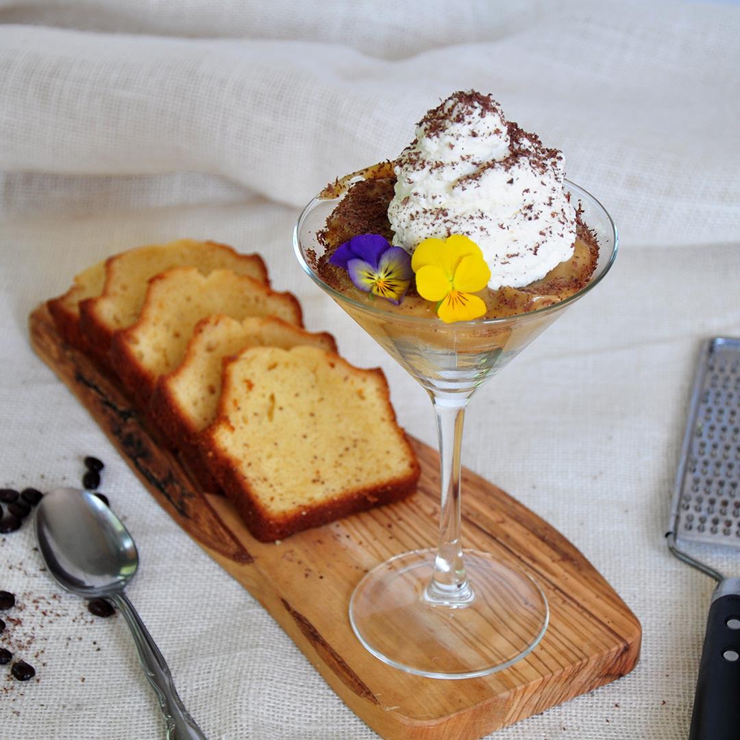 White Russian Mini Trifle Dessert