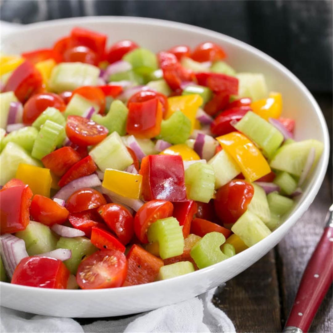 Marinated Vegetable (detox) Salad