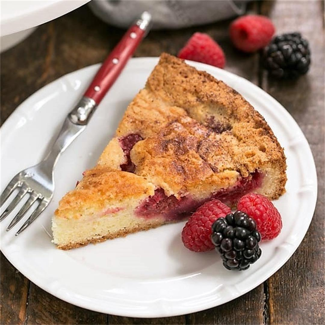 Mixed Berry Torte
