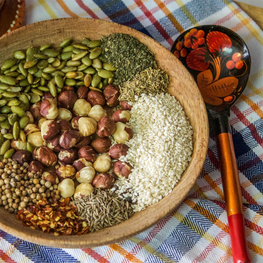 Dukkah (Egyptian Spice Blend)