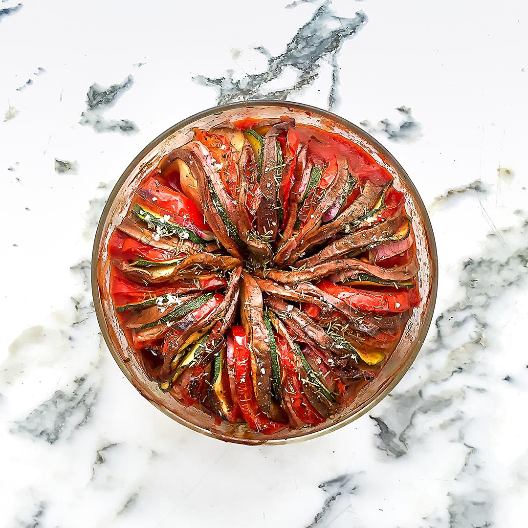 Easy and Quick Oven-Baked Ratatouille