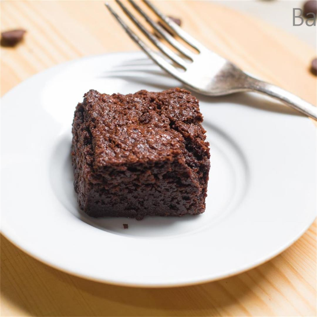 Perfect Dark Chocolate Brownies