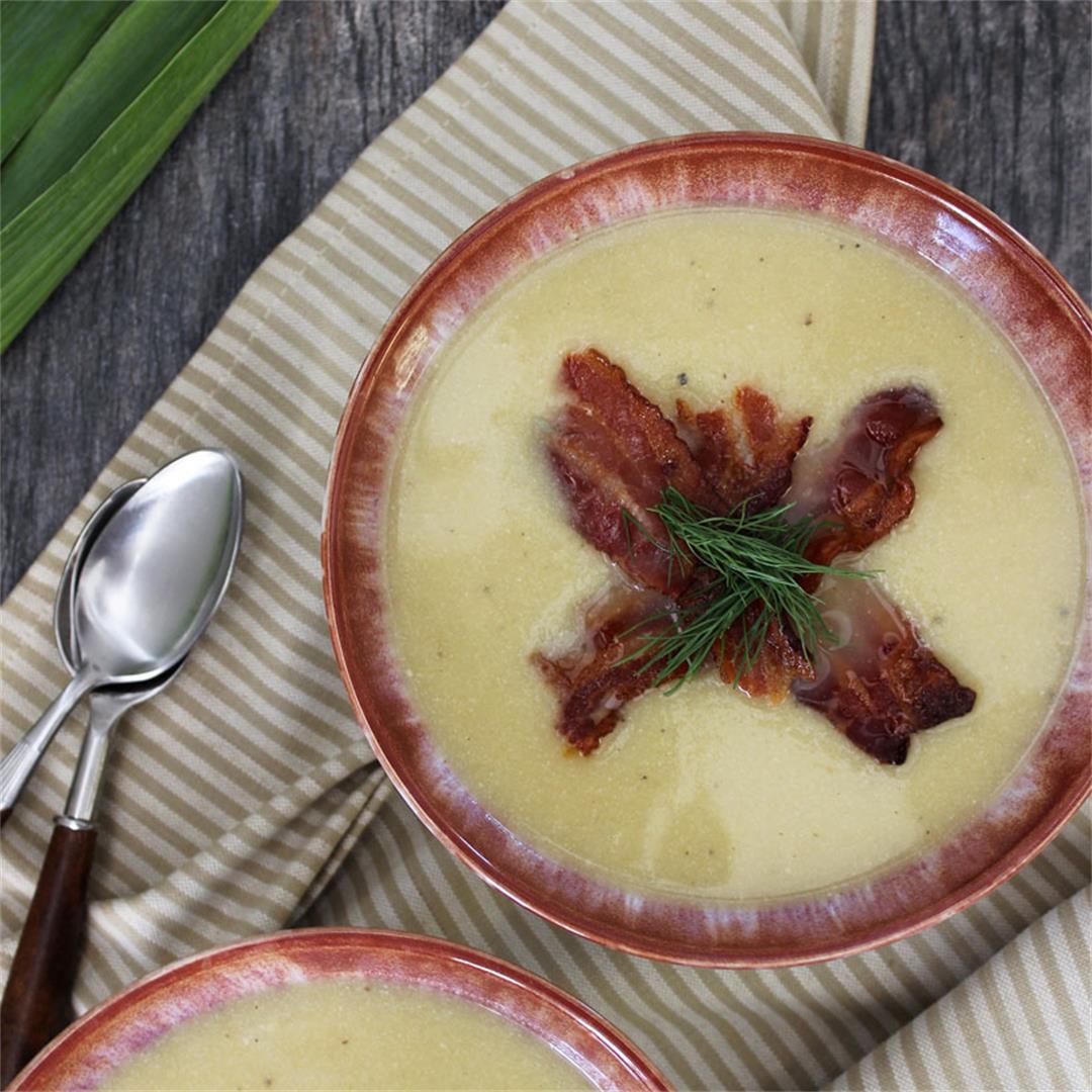 Potato, Leek, and Fennel Soup