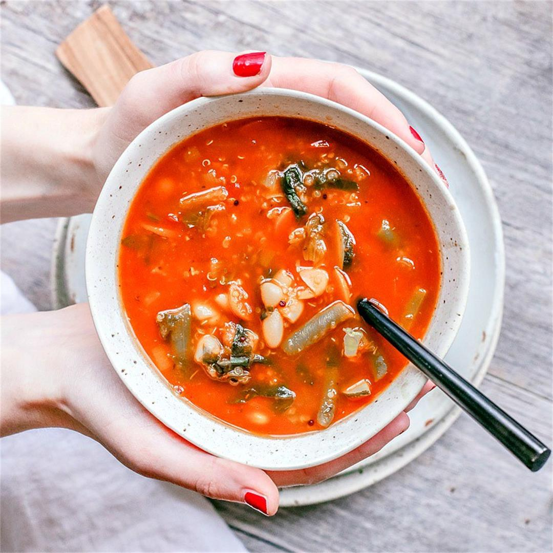 Healing Quinoa Vegetable Soup