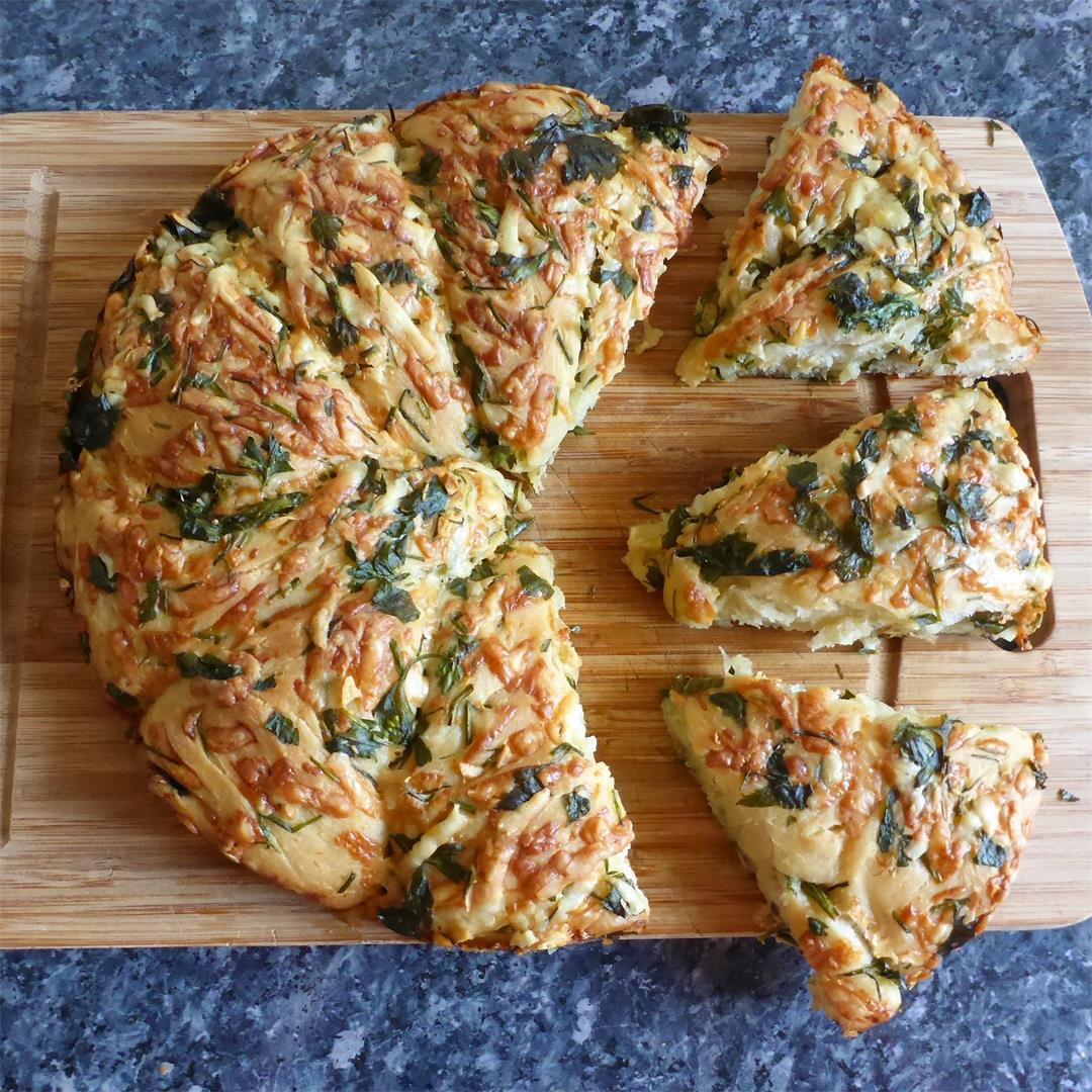 This is by far the BEST fresh herb bread recipe EVER!!!