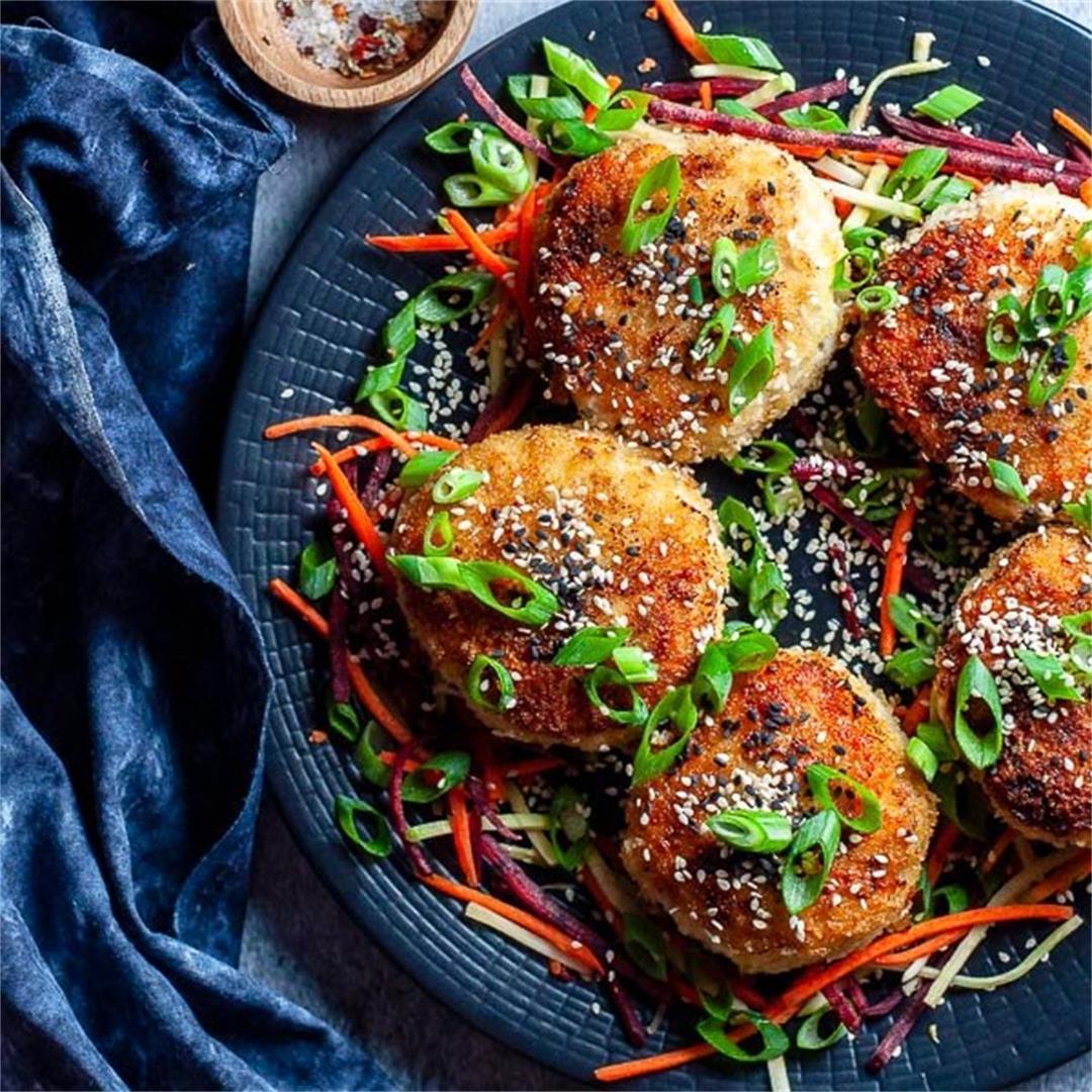 Healthy Chicken Rissoles