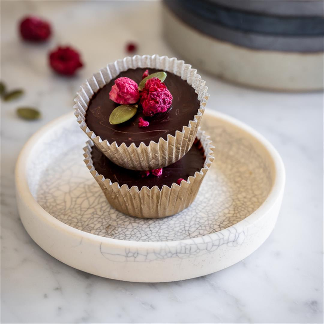 Dark Chocolate Marcona Almond Butter Cups