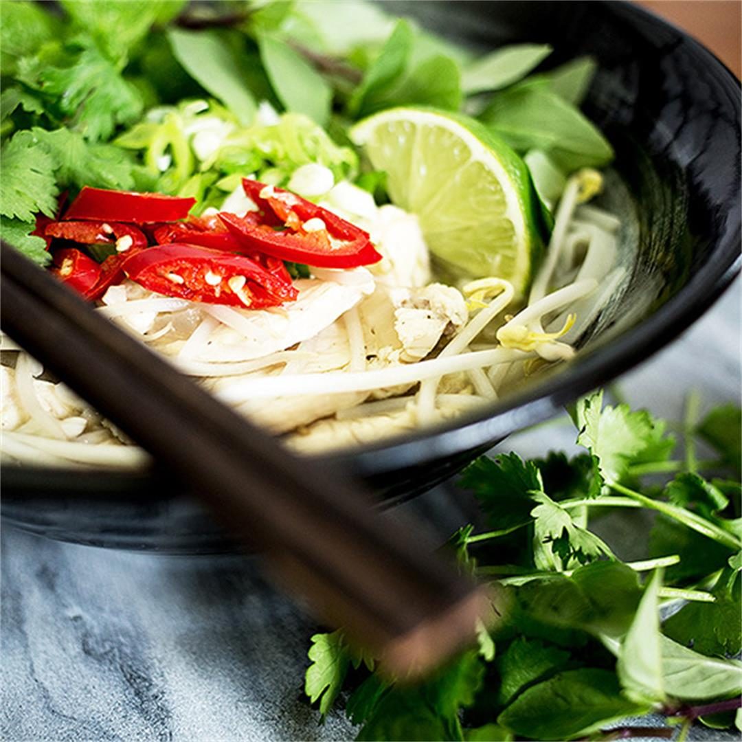 Vietnamese Chicken Pho Ga
