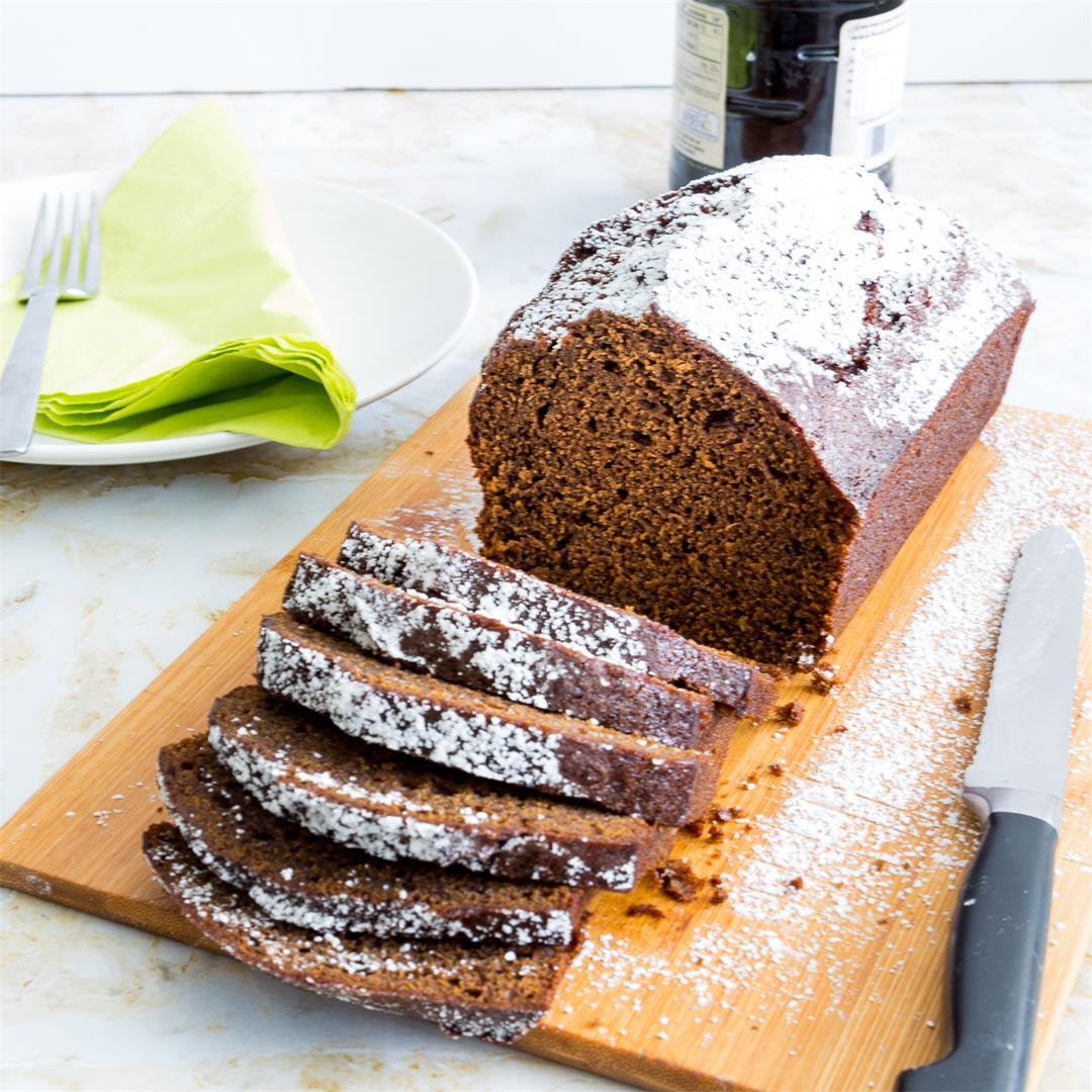 Spiced Gingerbread Loaf Cake