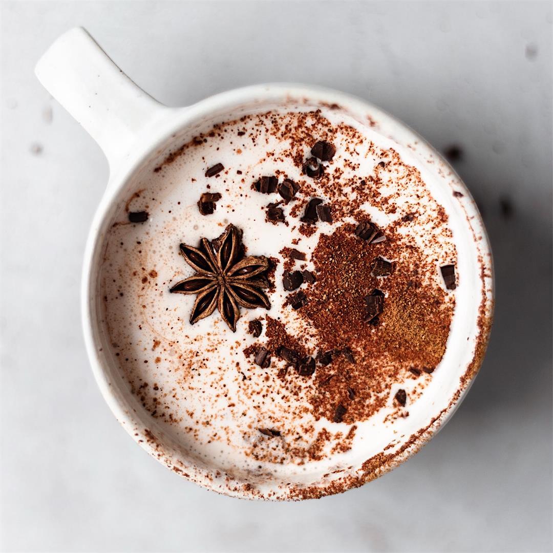 Vegan Chai Hot Chocolate