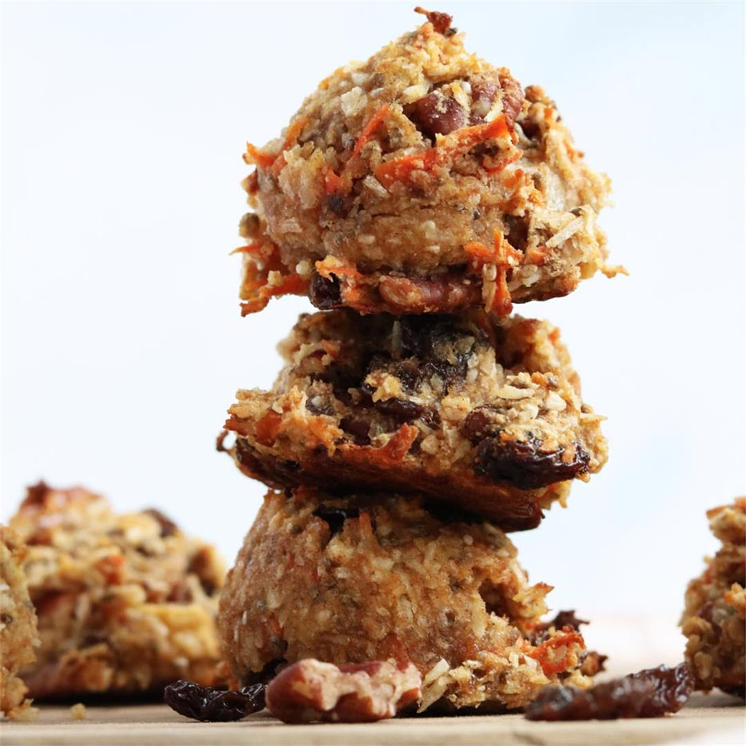Grain & Gluten-free Morning Glory Breakfast Cookies