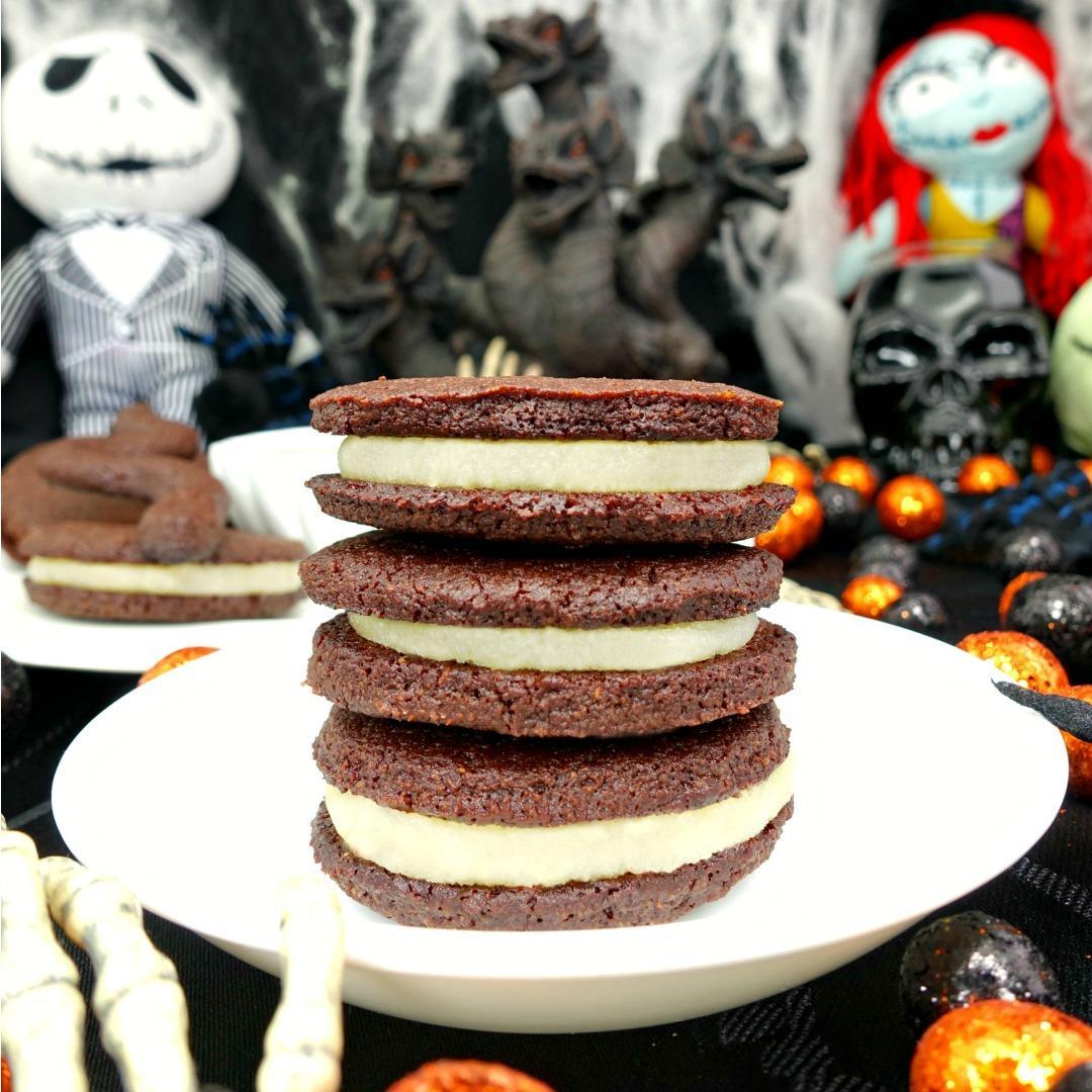 Paleo and Vegan Oreo Cookies