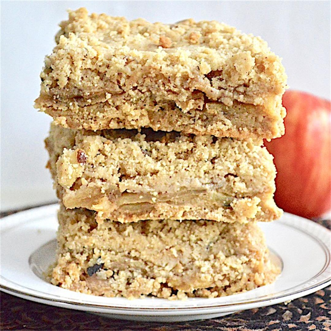 Brown Butter Apple Pie Bars