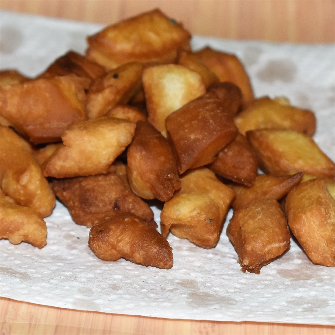 Bengali Kucho Nimki - Salted fried crackers