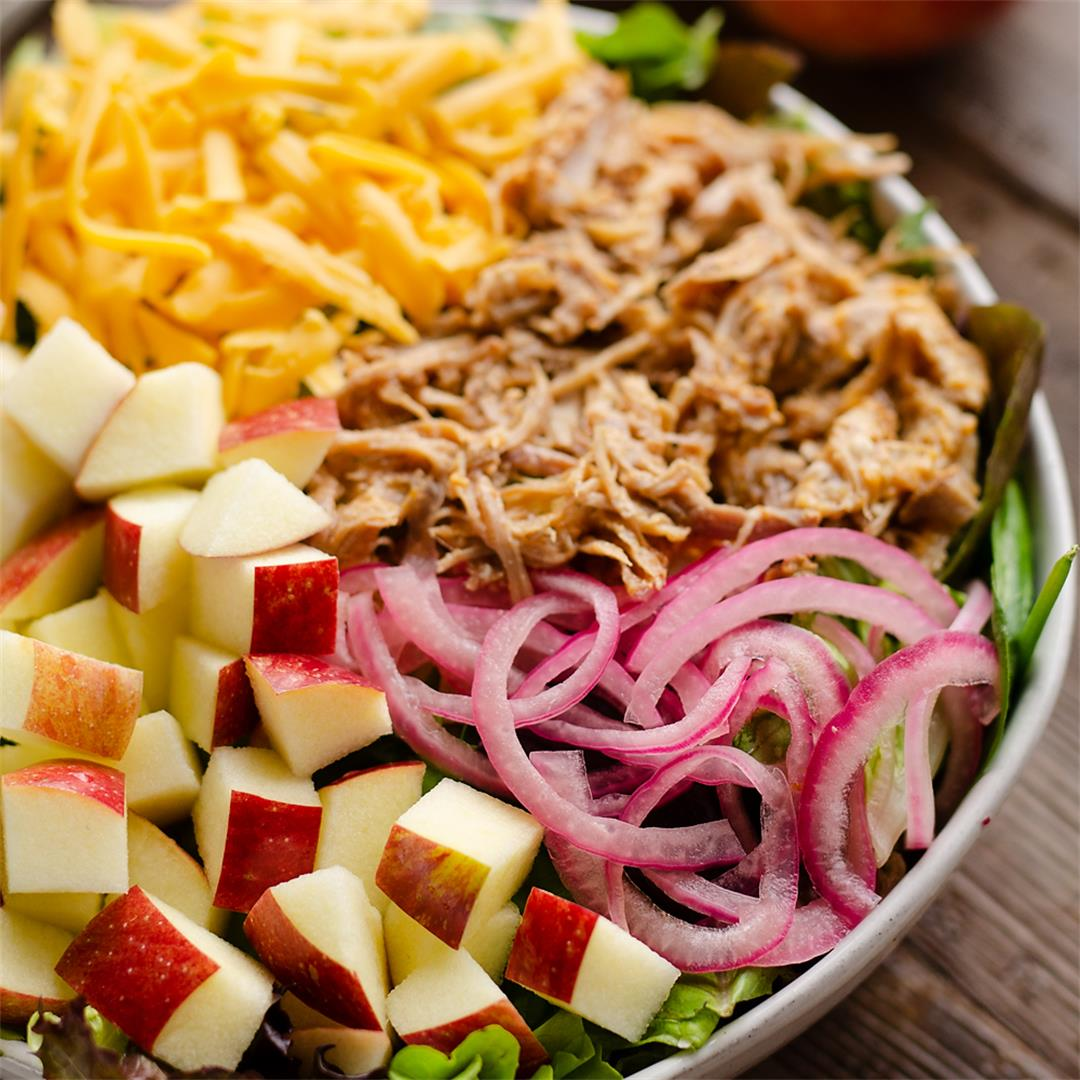 Pulled Pork Apple Salad