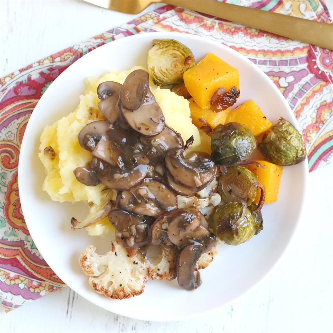 Vegan Thanksgiving Dinner on a Budget