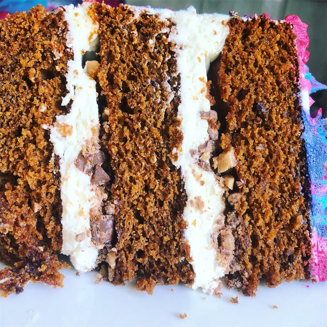 Gingerbread Toffee Cake