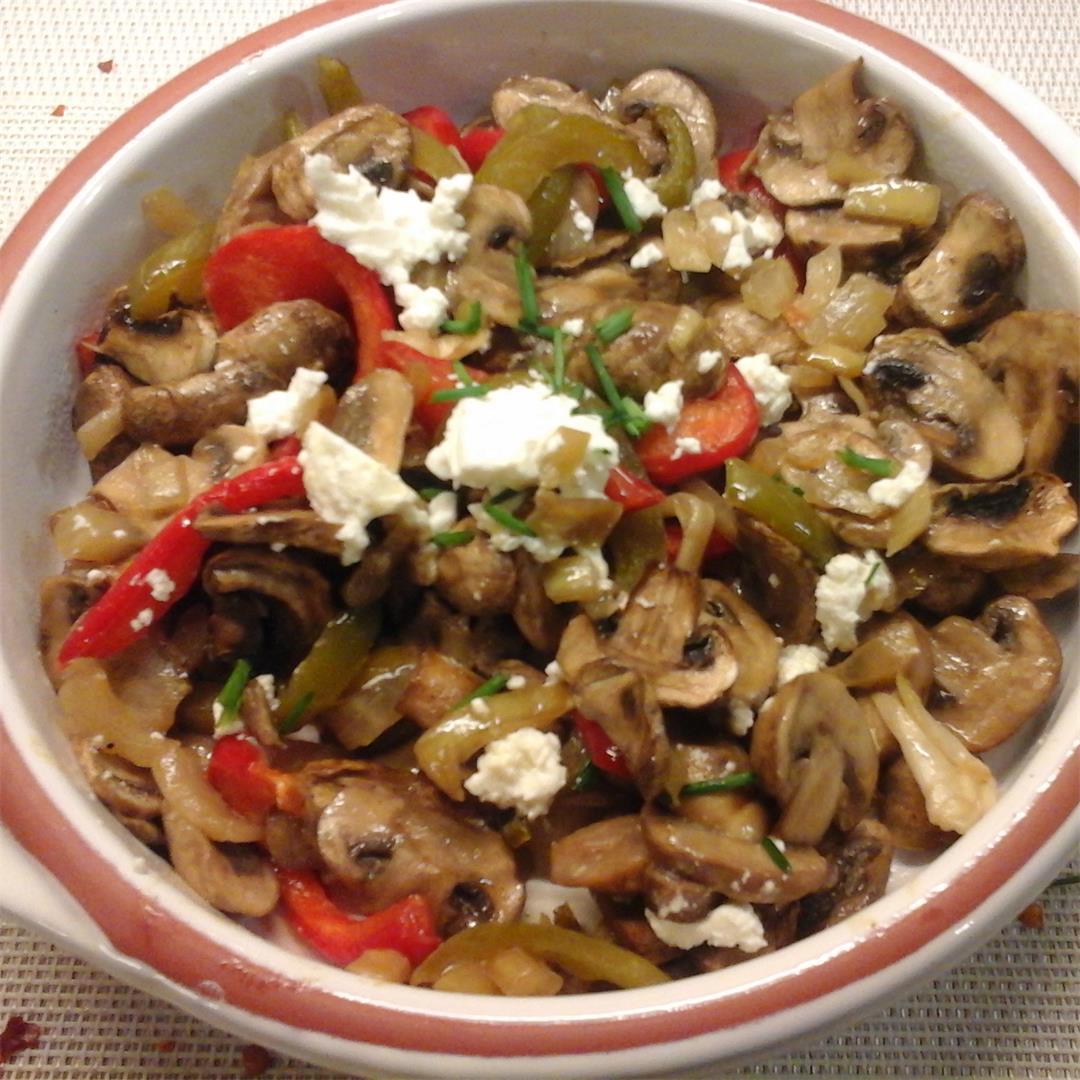 A tasty appetiser with Mushrooms marinated in White Wine