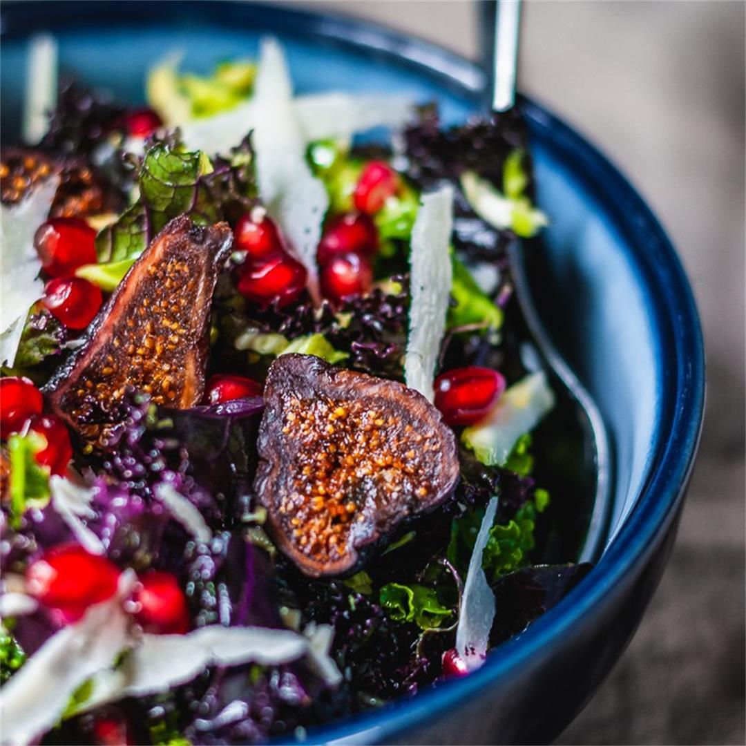 Kale Fig Salad
