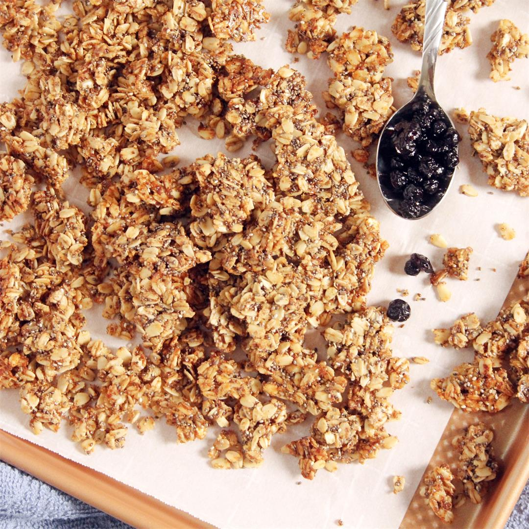 Cinnamon Maple Vanilla Granola