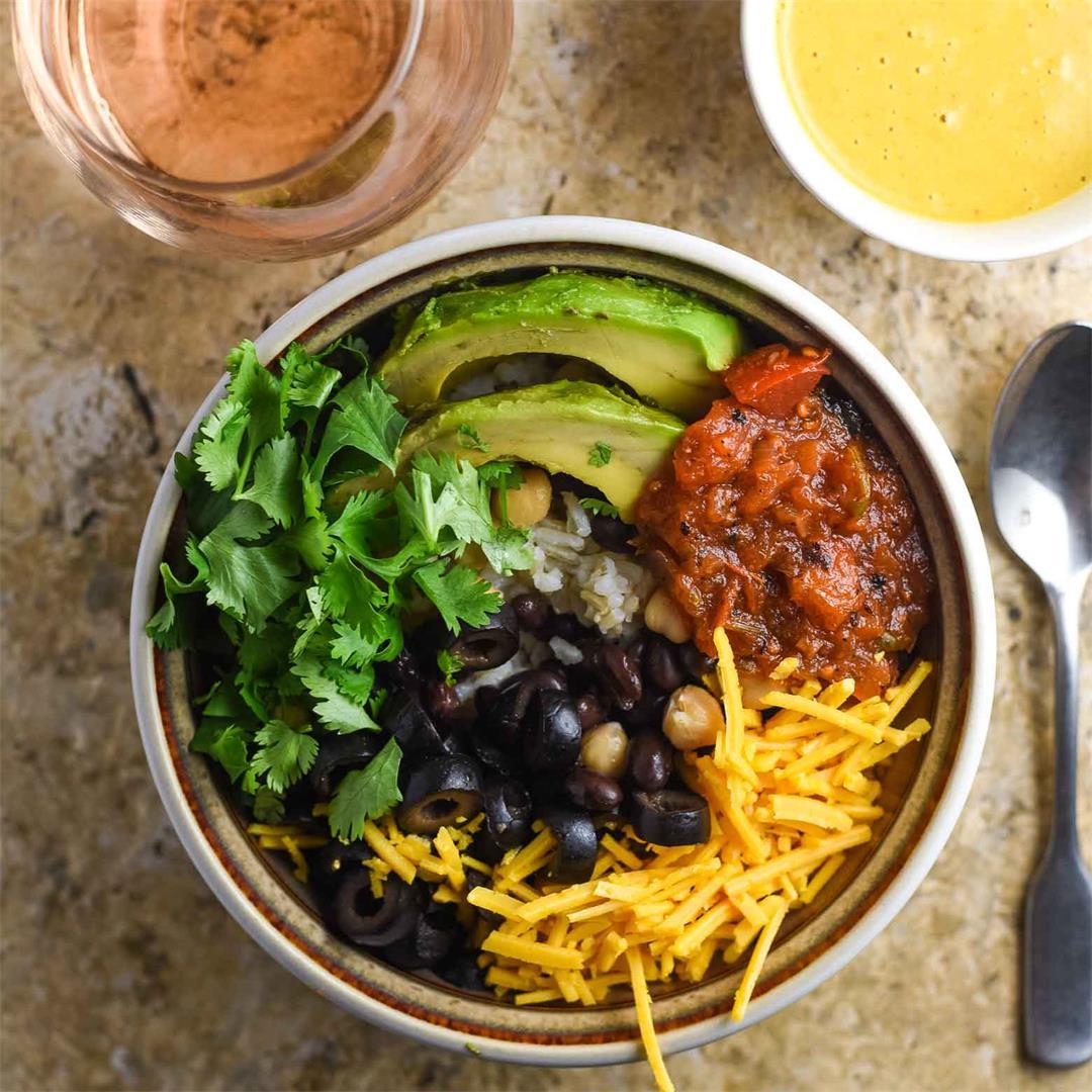 Tali Sauce Vegan Bowl
