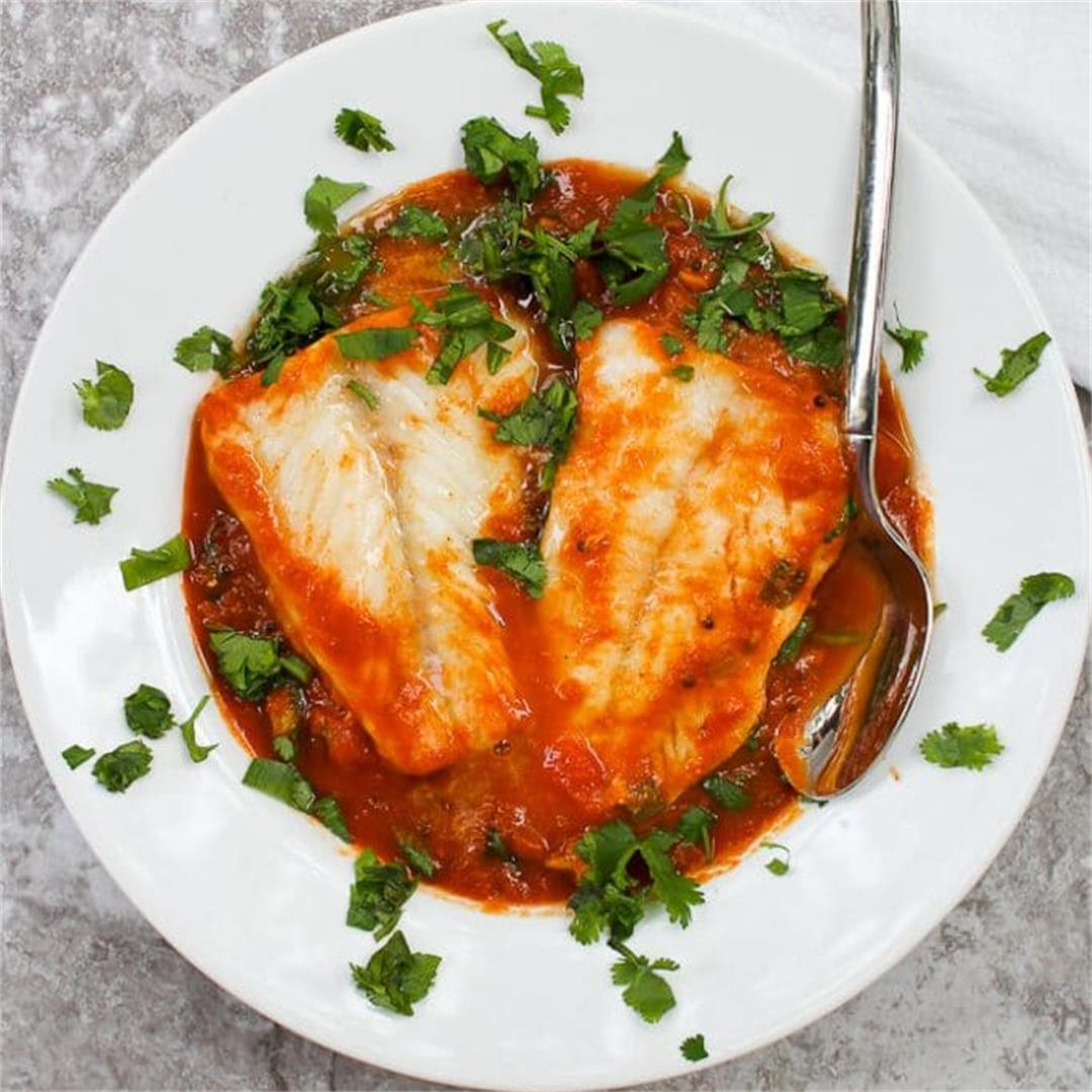 Cod Curry with Pumpkin (Dairy Free, Gluten Free, Low Carb)
