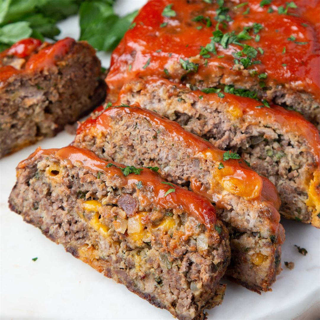 Bacon Cheddar Meatloaf