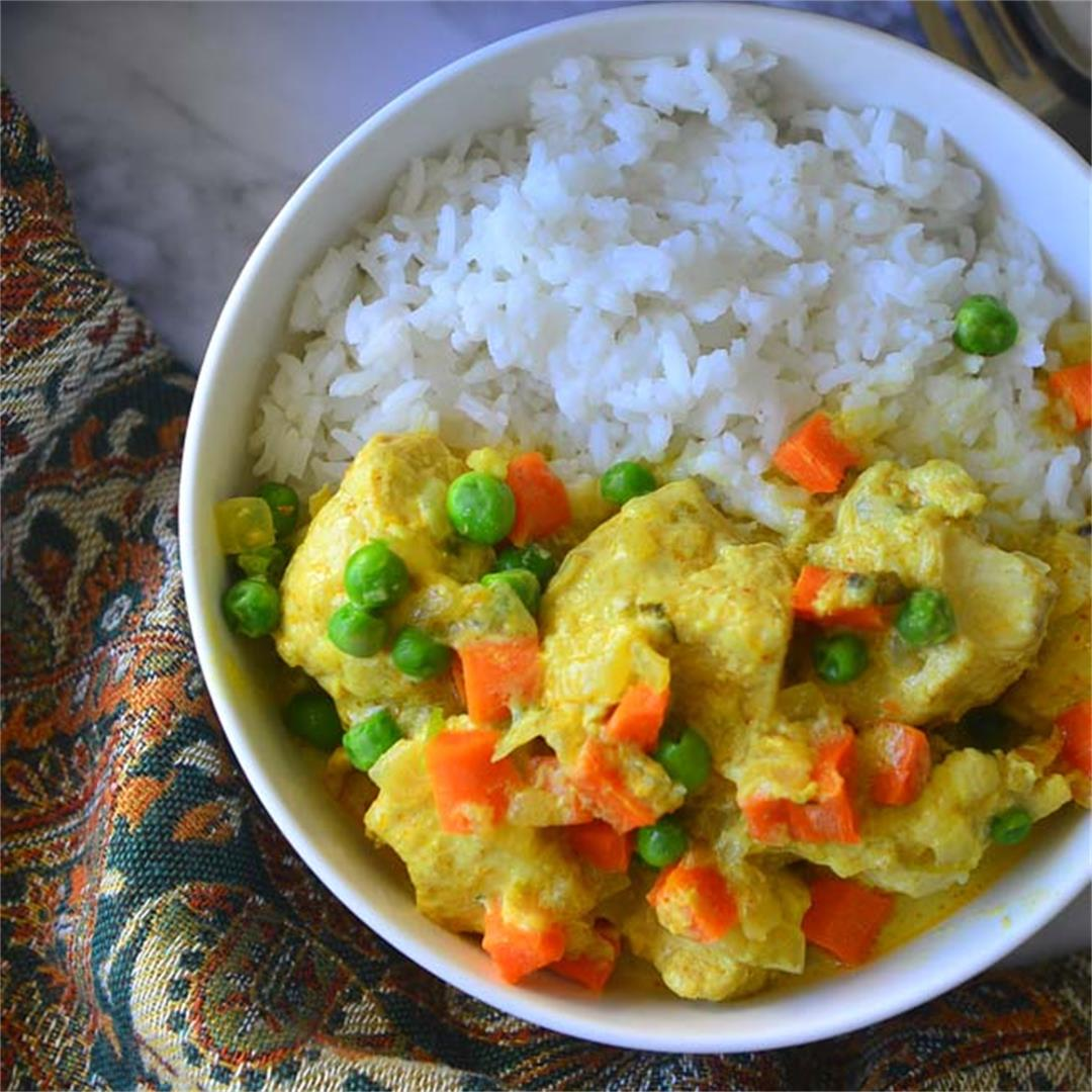Easy Instant Pot Chicken Curry
