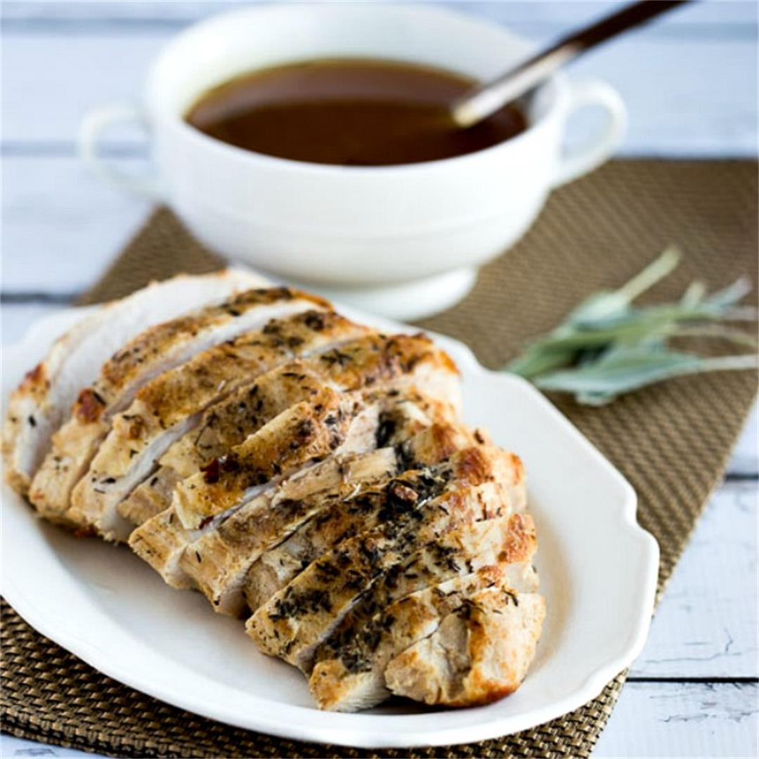 CrockPot or Instant Pot Turkey Breast