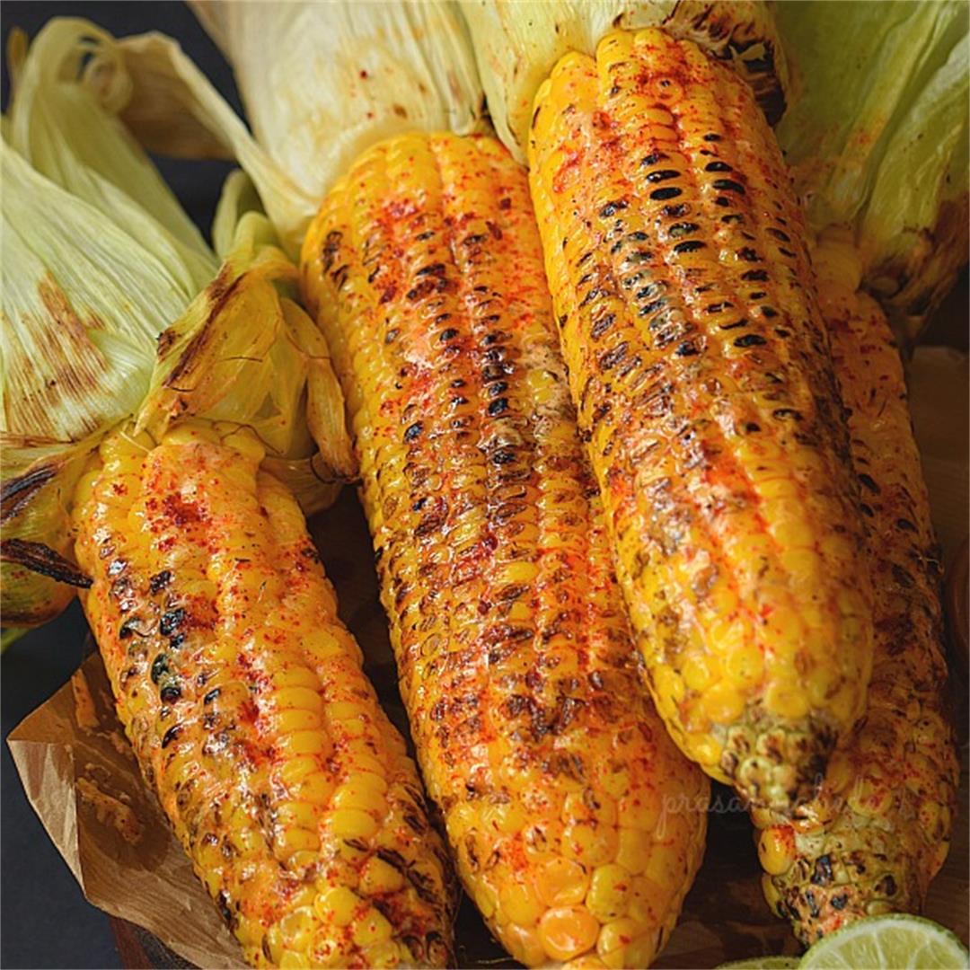 Cajun Butter Grilled Corn