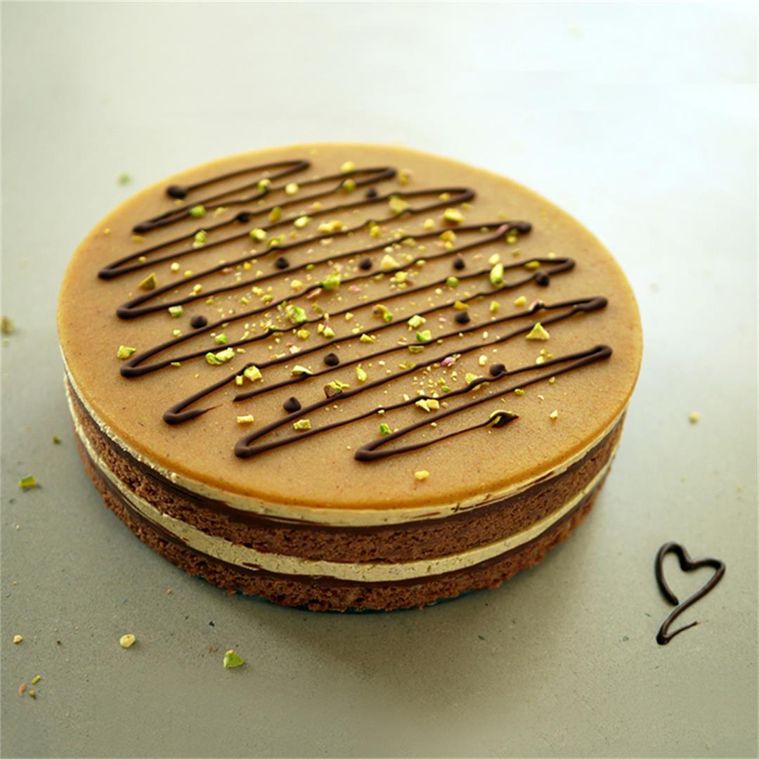 Mozartkugel Cake
