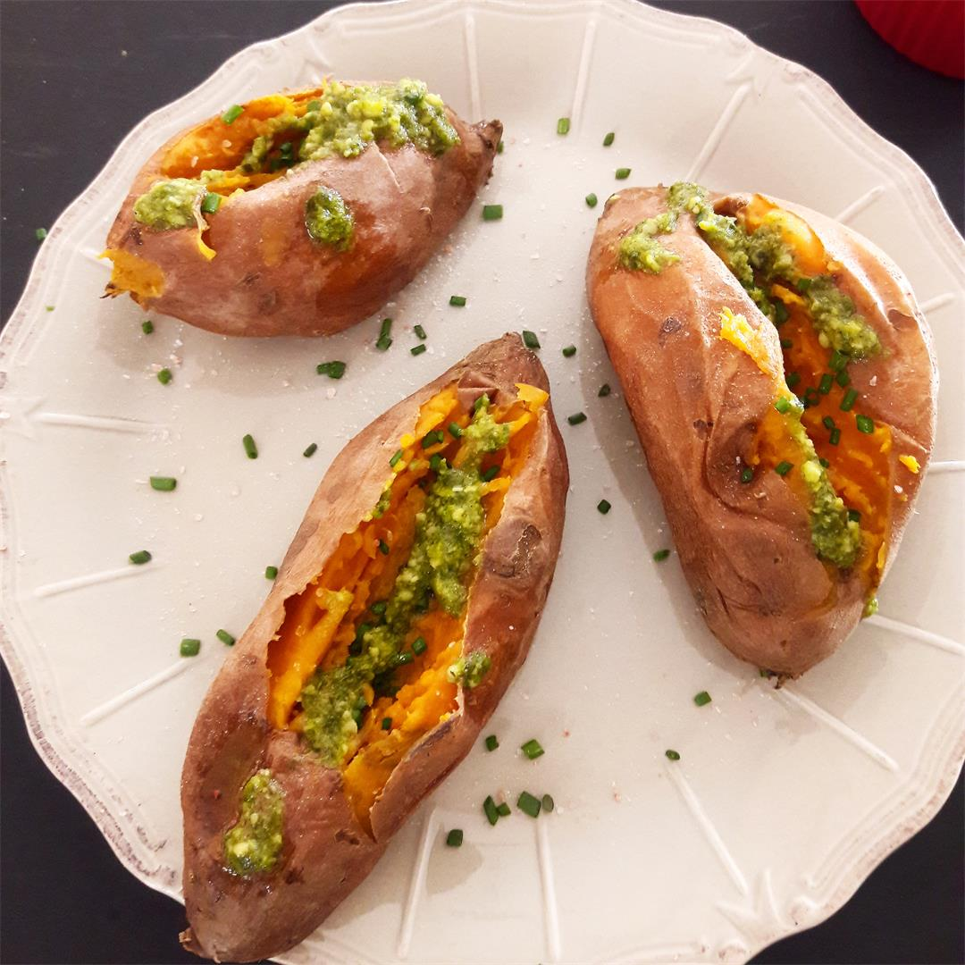 Stuffed Sweet Potato InstantPot