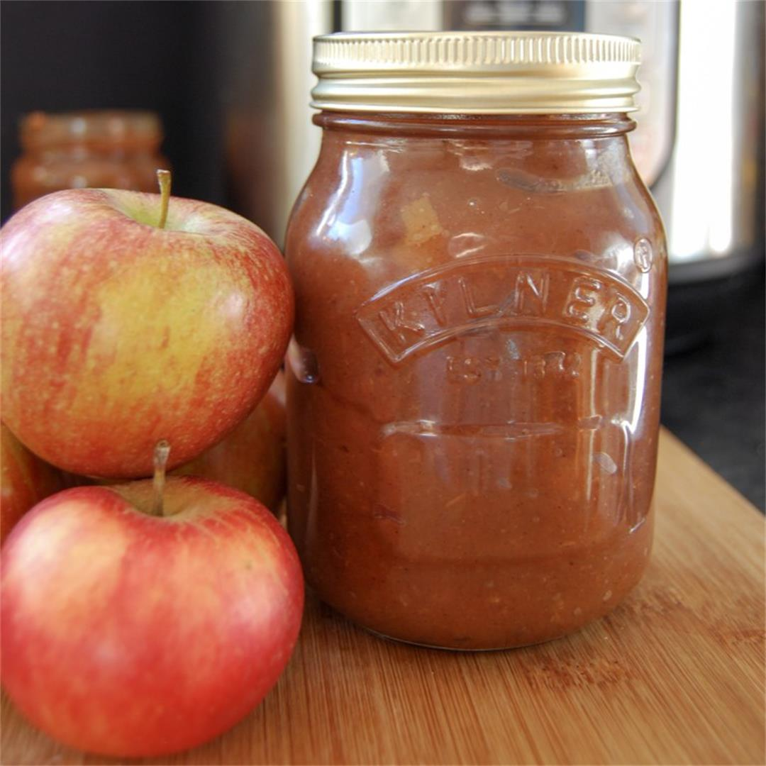 Make apple butter in the Instant Pot in under 30 minutes!