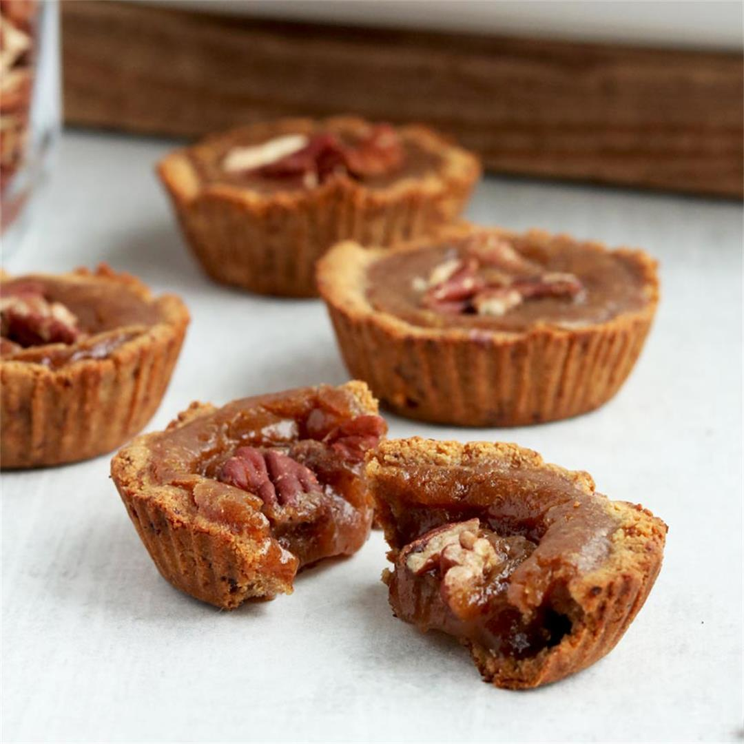 Grain-free Vegan Butter Tarts