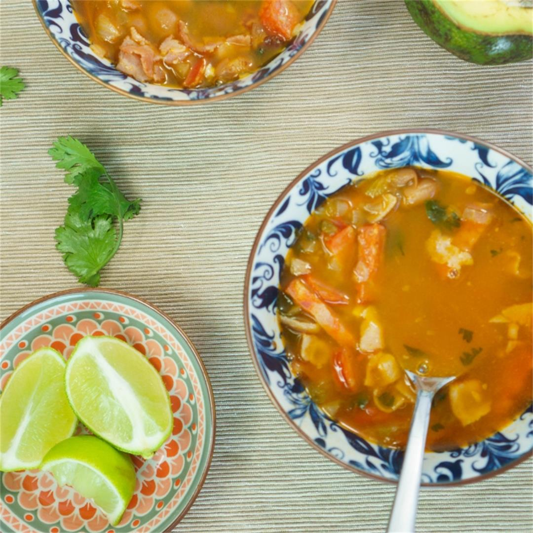 Frijoles Charros (Mexican Pinto Beans)