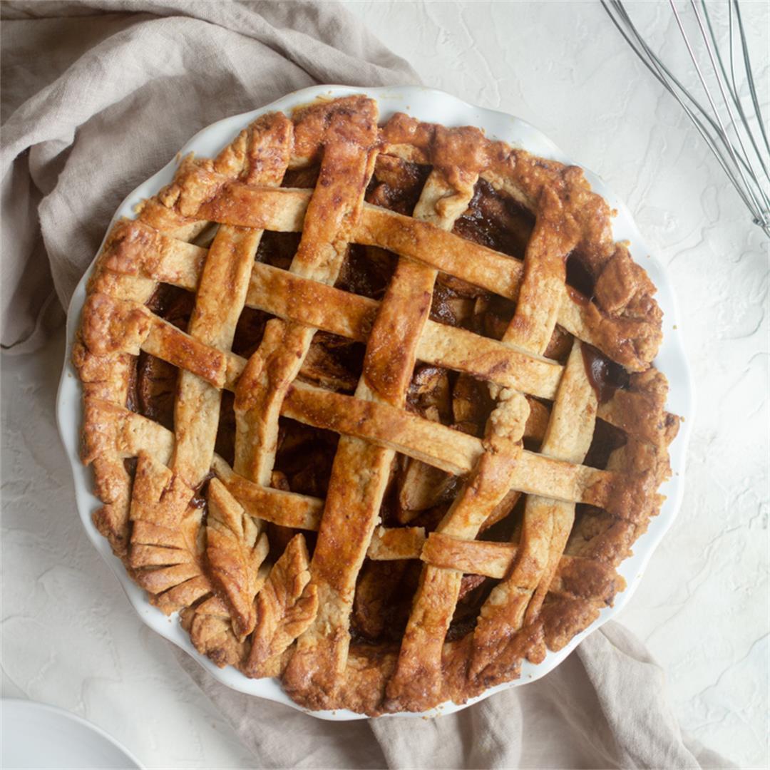 Almond Butter Apple Pie