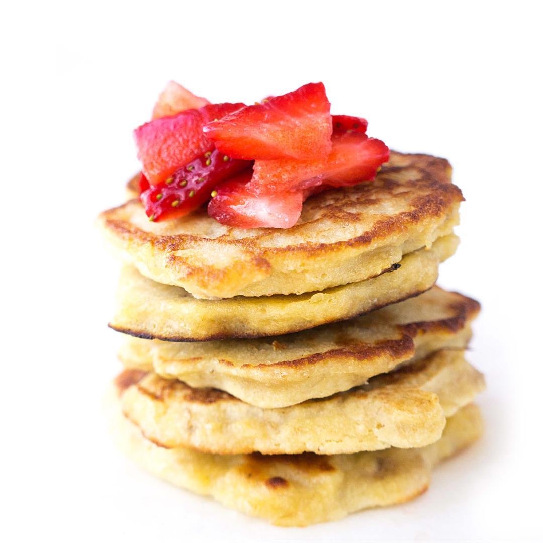 Mini 2-Ingredient Pancakes