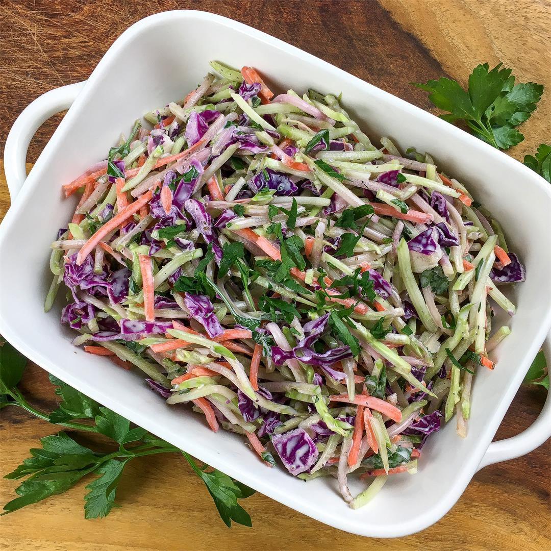 Broccoli Slaw; Keto friendly