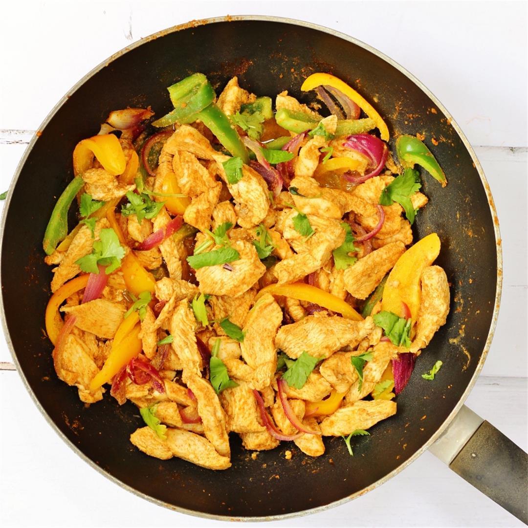 Fragrant Chicken: A North African Stir Fry