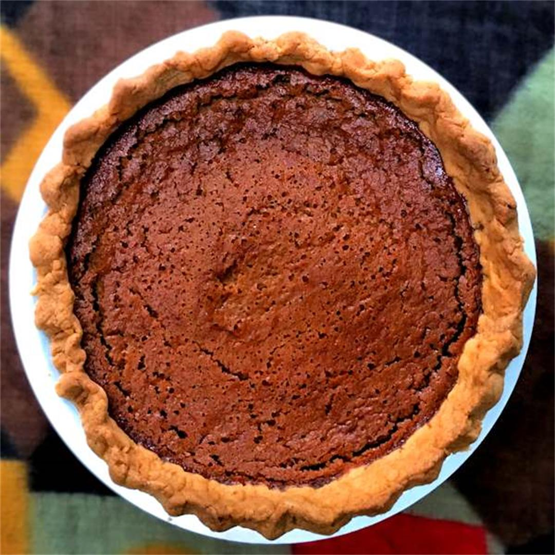 Pumpkin and cranberry pie