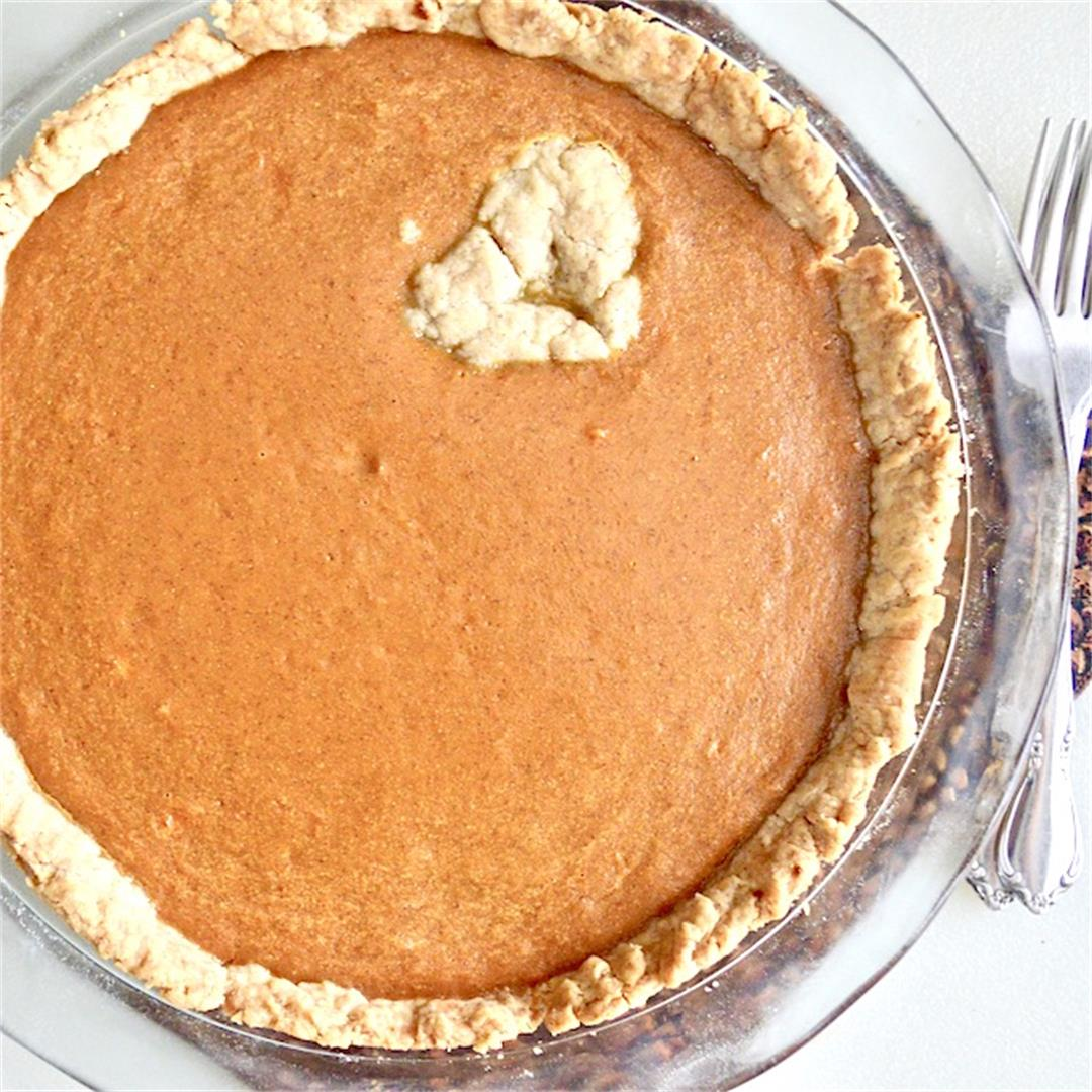 Pumpkin Sweet Potato Pie