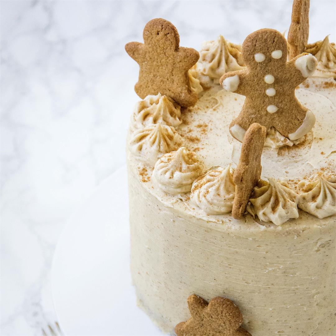 Chai Spiced Layer Cake