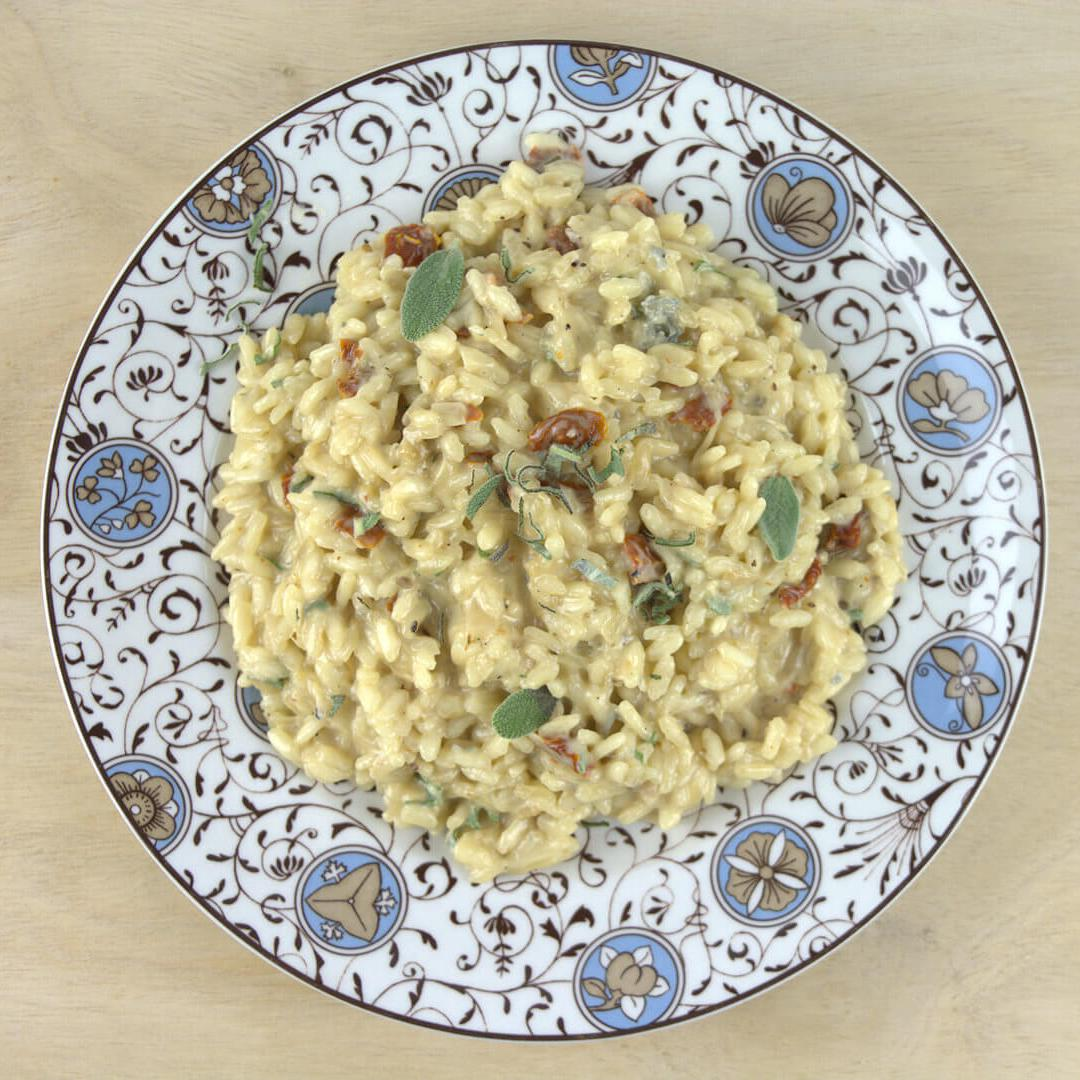 Gorgonzola Risotto with Sundried Tomatoes