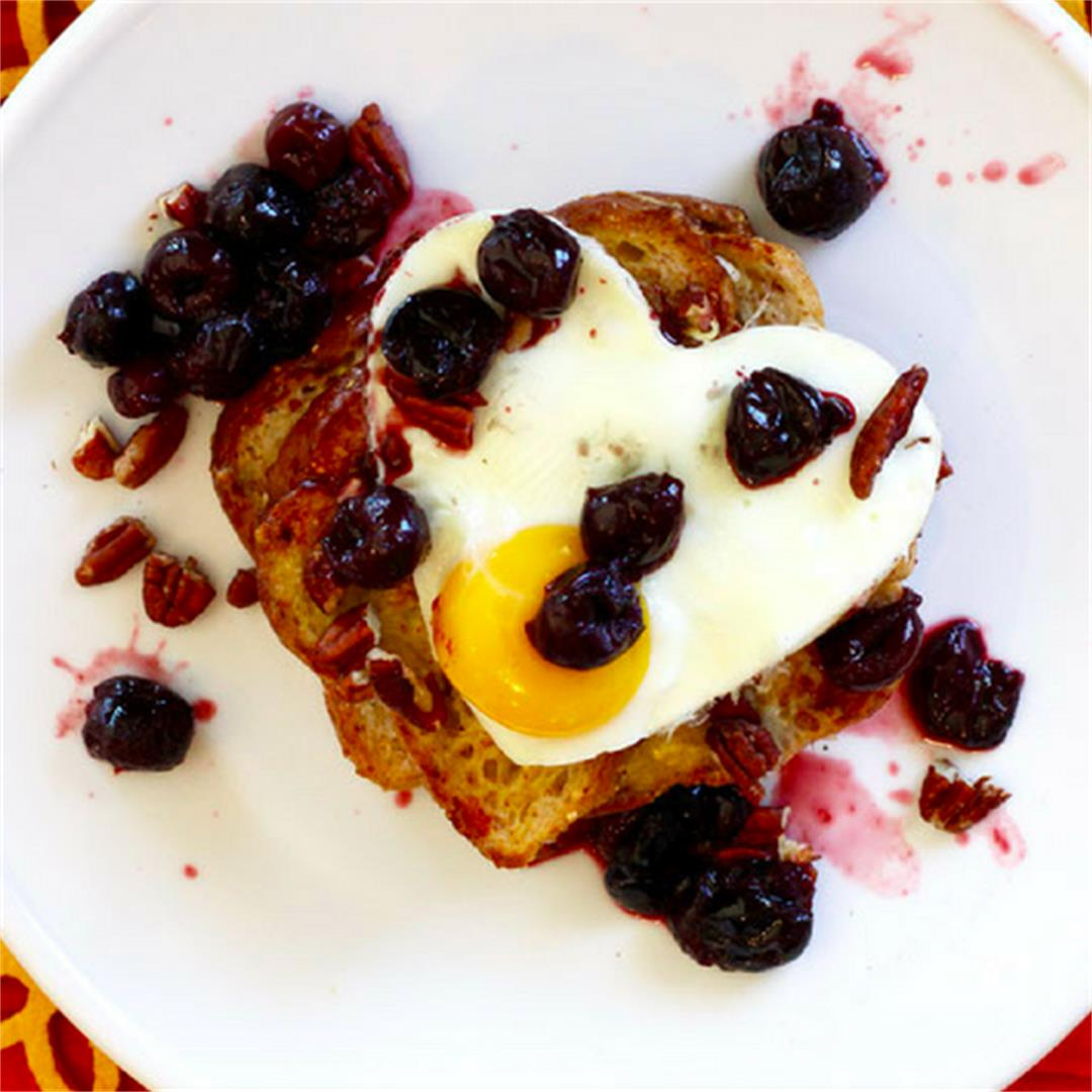 Protein-Rich Cherry French Toast