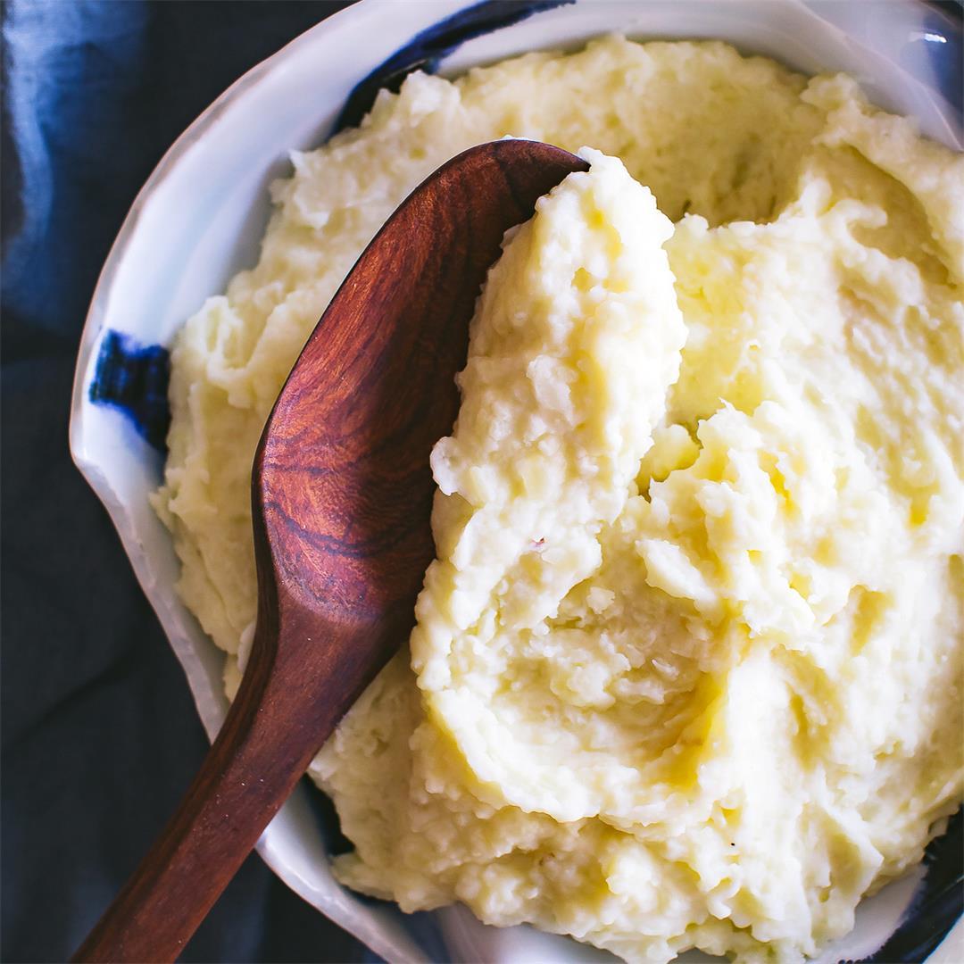 Instant Pot Cauliflower Mashed Potatoes