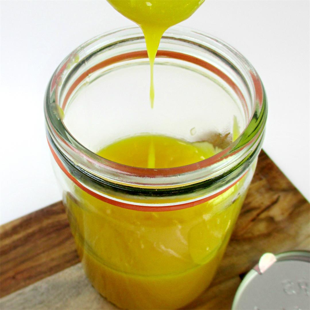 'Super Lemony' Lemon Curd